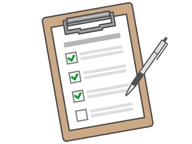 チェックリスト イメージ